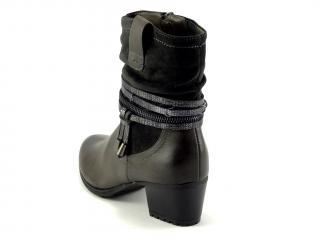 Wishot 955 šedá kotníková obuv