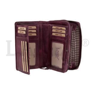 Peněženka Lagen 931/D plum
