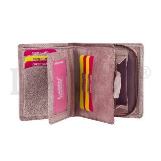 Lagen 1104 plum peněženka