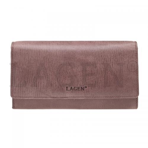 Lagen V401 bordó  peněženka