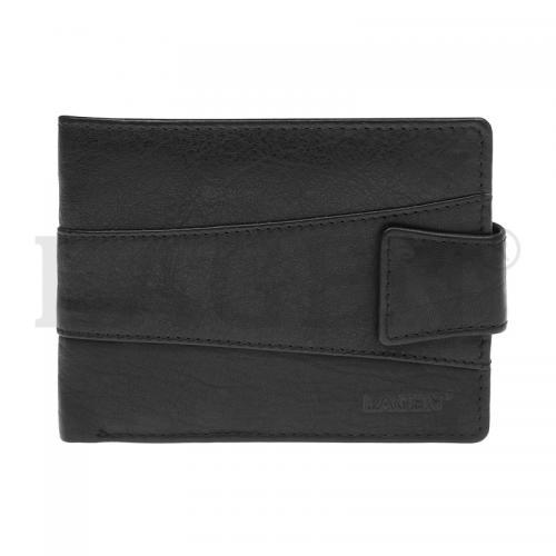 Lagen V 98 E černá kožená peněženka