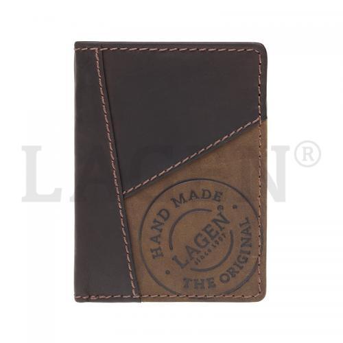 Peněženka Lagen hnědá 51145