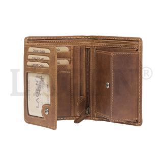 Peněženka Lagen TAN hnědá 51145