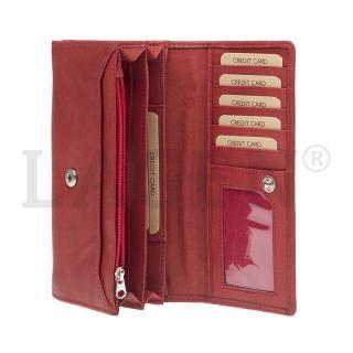 Lagen V25E červená peněženka