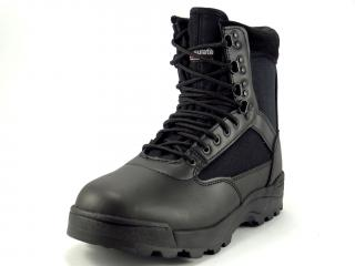 Boty Brandit 9017 Tactical Boots Zipper - se zipem černé