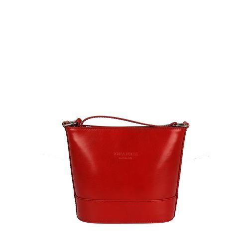 Vera Pelle 336 červená kabelka