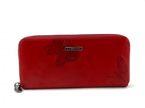 Lorenti červená peněženka 77006EBF