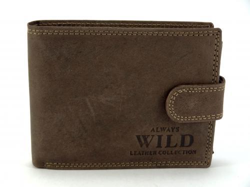 Wild hnědá peněženka N992L