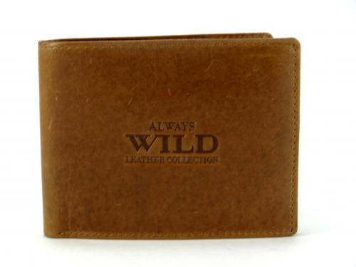 Wild cognac peněženka N992L