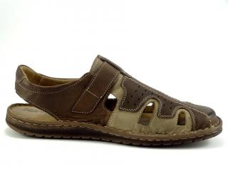Mateos sandál hnědý 678