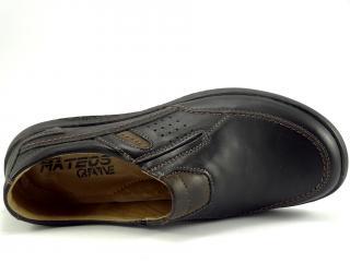 Mateos mokasína černá 326