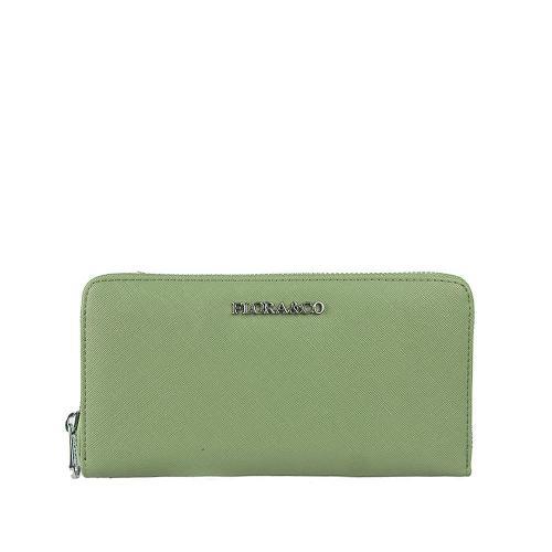 Flora peněženka vert clair K1688