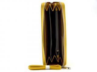 Flora peněženka moutarde K1688