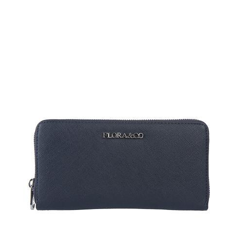Flora peněženka bleu K1688
