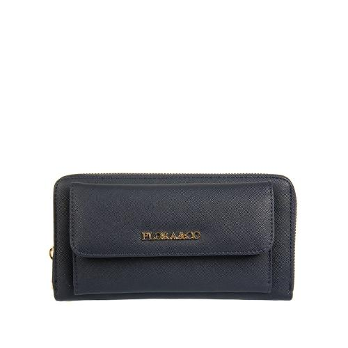 Flora peněženka bleu K8888
