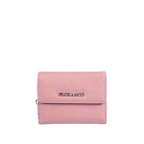 Flora peněženka rose pale T6011