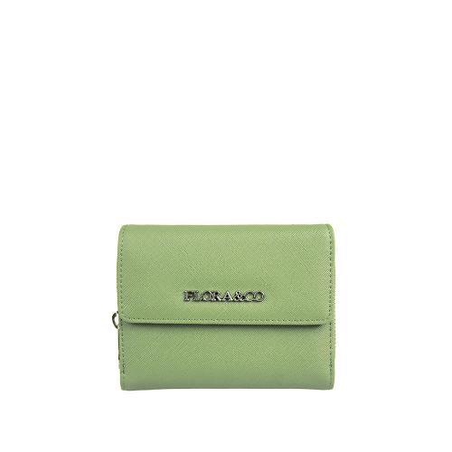 Flora peněženka vert clair T6011