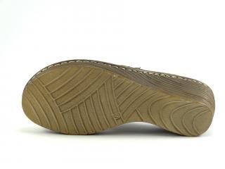 Helios obuv béžová nazouvací 214