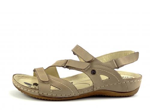Helios obuv béžová letní 241