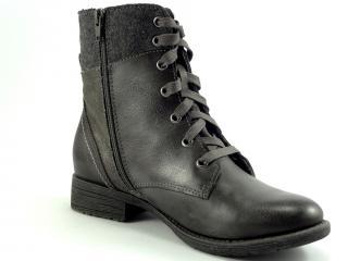 Jana obuv šedá kotníková 25217