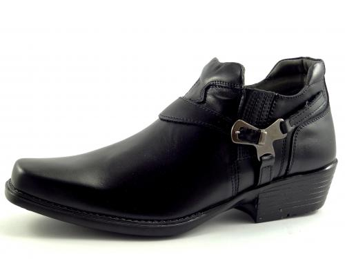 Selma westernové boty na motorku na koně nízká 1026 black