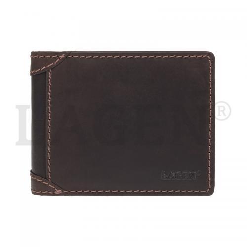 Peněženka Lagen hnědá 511461