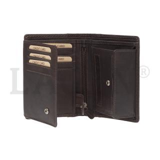 Peněženka Lagen hnědá 51146