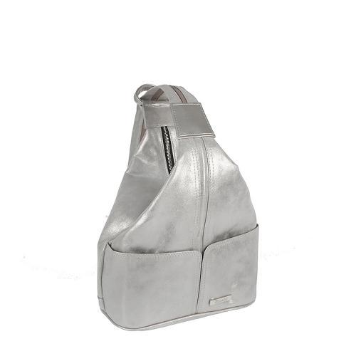 Batoh Riccaldi stříbrný P1871
