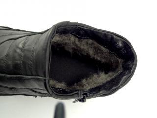 Obuv Kristofer černá kotníková 787