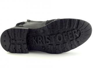 Obuv Kristofer černá kotníková 322