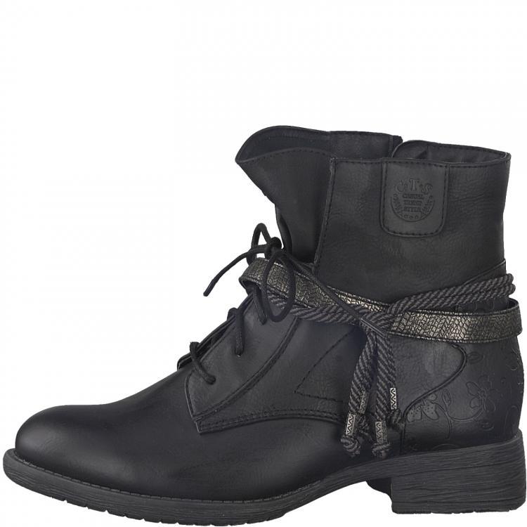 8cc369379f2 Jana obuv černá kotníková25208