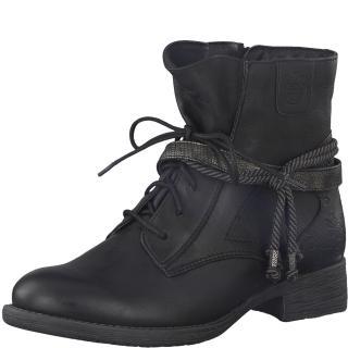 Jana obuv černá kotníková25208