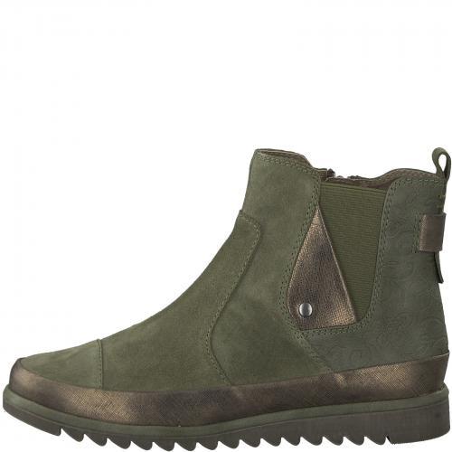 Jana obuv kotníková olive 25403