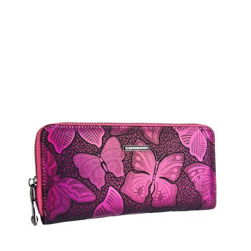 Peněženka Lorenti pink 77006 NBF