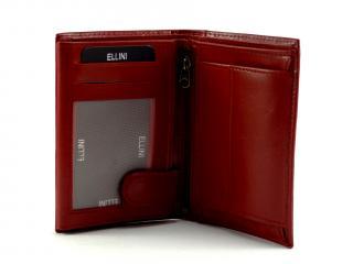 Ellini peněženka červená 034N