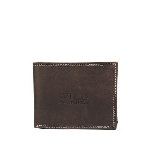Peněženka Wild hnědá N9992