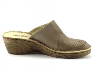 Letní obuv Helios béžová nazouací