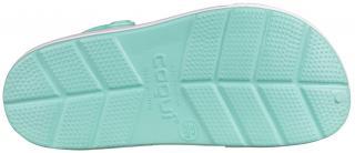 COQUI sandály sv.zelené/bílé 6413