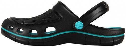 COQUI sandály černé/tyrkysové 6352