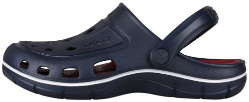 COQUI sandály modré/tm.červené 6351