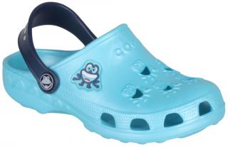 COQUI sandály modré/navy 8701