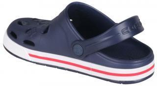 COQUI sandály modré/bílé 8801