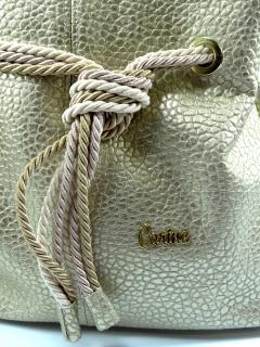 Kabelka Carine zlatá 156