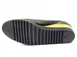 Polobotka Aurelia černá klínek 2053