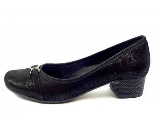 Lodička Aurelia černá 2757