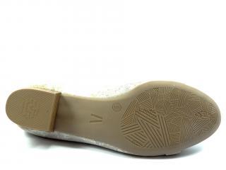 Lodička Alpina beige Megan 8982/3