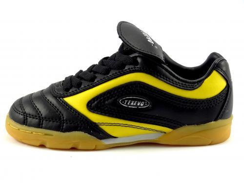 Sálová obuv černo žlutá SOC 9008