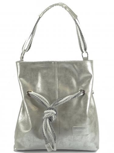 Carine kabelka stříbrná 156