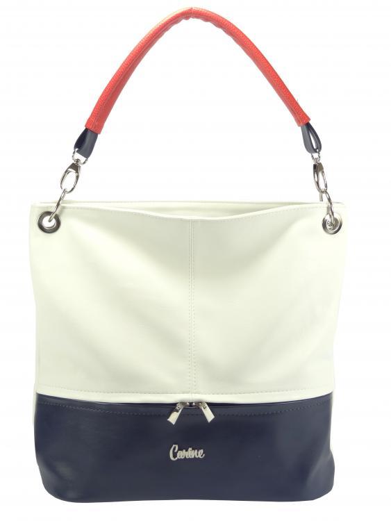 47000468ff Carine kabelka bílá trikolora 92