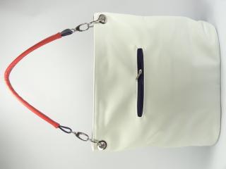 Carine kabelka bílá trikolora 92